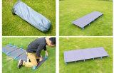 Leve e portátil militares do exército exterior Camping cama dormir berço dobrável de alumínio