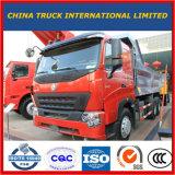 20 Cbm HOWO A7 de Vrachtwagen van de Stortplaats