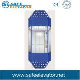 Visite d'observation Vvvf en verre feuilleté ascenseur