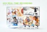 P2pのホーム製品4CH 720pのホームセキュリティー4CH NVRキットCCTVキットIP CCTVのカメラ