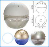 球形の香料入りの携帯用空気清浄器