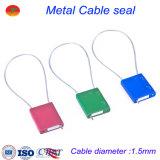 Sello del carro de la seguridad del sello del cable del sello mecánico 1.5m m de China
