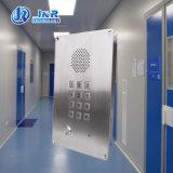 Analog/SIP/GSM spoel de Opgezette Intercom van de Noodsituatie voor Lift, Schone Zaal