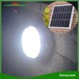 das lâmpadas leves solares do teto da lâmpada de parede do diodo emissor de luz do diodo emissor de luz 3W 9 o corredor solar da lâmpada da estrada ilumina a iluminação ao ar livre de controle remoto do painel solar