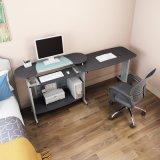 2명의 사람 Foldable 사무용 컴퓨터 테이블 책상