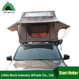 Tenda impermeabile terrestre della parte superiore del tetto dell'automobile della tela di canapa di vendita calda per il campeggio e viaggiare