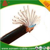 中国Cable Supplier 450/750V Copper Core PVC Insulation PVC Sheath Braided Shielded Flexible Control Cable