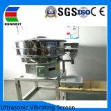 Plataforma única máquina de peneira vibratória ultra-sónico