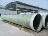 Cilindro plástico reforçado fibra da câmara de ar da tubulação do vidro de fibra de FRP para a solução ou a água química