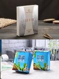 ロゴの印刷のガラス香水瓶5ml 10ml空気のないポンプびんのペーパーガラスびんボックス包装(Jpペーパーボックス138