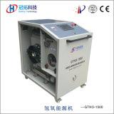 O reparo do motor elétrico utiliza ferramentas o soldador de cobre da água da solda Gtho1500 Hho