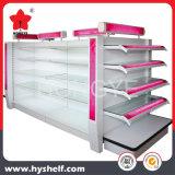 Aménagement cosmétique de gondole d'étalage de qualité pour le supermarché