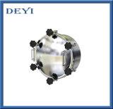 Aço inoxidável Modelo Yaa SS304 Pressão redondos Passivo Manway sanitárias