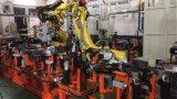 tipo soldadora de 110kVA X robótica para el asiento de coche Slideway