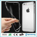 Caja clara ultra fina de la piel para el iPhone 8 de Apple