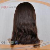 Parrucca scura superiore di disegno di modo (PPG-l-01284)