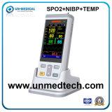 L'EFP oxymètre de pouls du Moniteur Patient avec la PNI+SpO2+vétérinaire Temp