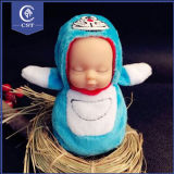 Long de la chance de couchage Baby Doll pendre pour cadeau de chaîne de clé