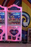 2017 행복한 세계 쇼핑 센터를 위한 소형 견면 벨벳 장난감 클로 기중기 기계