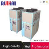 Hohe Effeciency 3HP Luft abgekühlte abkühlende Kapazität 7216kcal/H des Kühler-8.39kw/2.5ton für Nahrungsmittelaufbereitenbereich-industriellen Kühler