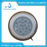 Resina de aço inoxidável de alta potência LED isolados Piscina luz da lâmpada