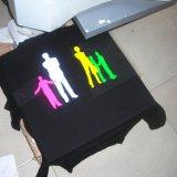 Elastische Goede Hand die Vinyl van de Overdracht van het Neon het Roze voor Textiel voelen