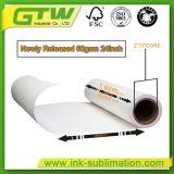 Peso 60 g/m² Papel de transferencia de calor para sublimación Print