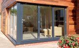Раздвижная дверь Woodwin отражательная стеклянная алюминиевая