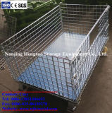 Steel Wire Mesh Pliable Container Cage / Stockage pour Rack Pallet