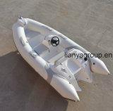 Ce gonfiabile della barca di gomma del fornitore della barca di Liya 3.8meter approvato