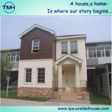 Economicial는 두 배 층에 있는 집을 조립식으로 만들었다