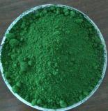Аттестованная ISO неорганическая окись хрома зеленого пигмента Cr2o3 для покрытия
