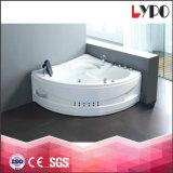 K-8825 mercancías sanitarias bañera, burbuja con la bañera del LED, precios de la tina de baño de Surport del acero inoxidable