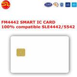 個人専有化のFM4442接触ICのカード