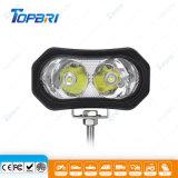 3.6inch 10W 크리 사람 LEDs 기관자전차 작동 램프 LED 일 빛