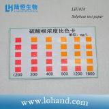 Papel de prueba del sulfato de la tarjeta de la prueba de Lohand/tiras rápidos exactos