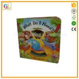 Service d'impression chaud de livre de carton d'enfants de vente