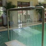 Ducha inoxidable de la piscina de acero del BALNEARIO de Fenlin de la piscina del masaje cómodo de la carrocería