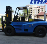 Forklift Diesel de Ltma Forklift Diesel de 12 toneladas com motor de Isuzu