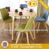 Runde Form-Leder Paded Schreibtisch-Furnier-Blattleitende Stellung-Tisch (HX-8DN013)