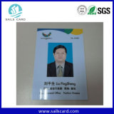 Cartão da identificação da proximidade RFID da equipe de funcionários