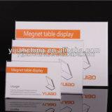 Vente chaude ! ! ! Supports acryliques clairs élégants modernes faits sur commande de signe de fabrication d'usine