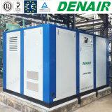 Seuls/à deux étages 15-250 kilowatts dirigent le compresseur d'air rotatoire branché de vis