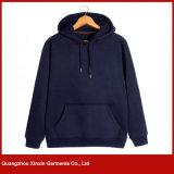 Kundenspezifische Hoodies der schwarzen Form-Männer Sweatshirts (T177)