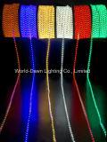 The110V/220V 높은 광도 Hight 전압 밧줄 Lgiht를 위한 온난한 백색 색깔
