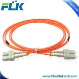LC UPC à SC Duplex de l'UPC 2.0mm Om3 Câble de raccordement à fibre optique multimode