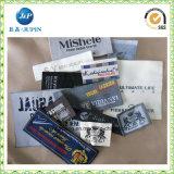 Escritura de la etiqueta tejida escritura de la etiqueta de la talla de la ropa de la alta calidad (jp-cl154)