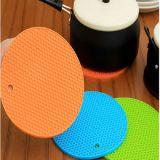Ustensiles de cuisine Silicone motif Honeycomb de forme ronde tapis résistant à la chaleur