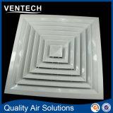 4 Möglichkeits-quadratischer Decken-Diffuser (Zerstäuber), Zubehör-Luft-Luftschlitz-Gesichts-Diffuser (Zerstäuber)