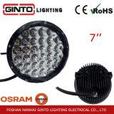 Protección IP68 7pulg. Alquiler de luz LED de trabajo para el camión de la armadura (GT1015-128W)